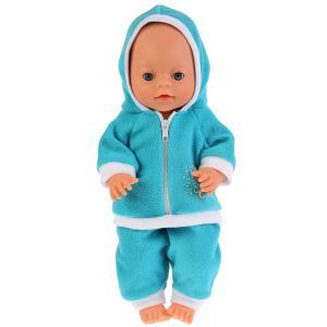 """Одежда для кукол 40-42см комплект """"единорожка"""" в пак. """"Карапуз"""" в кор.100шт"""