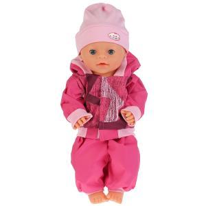 """Одежда для кукол 40-42см комплект с шапочкой в пак. """"Карапуз"""" в кор.100шт"""