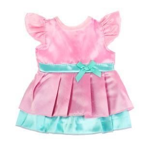 """Одежда для кукол 40-42см платье в пак. """"Карапуз"""" в кор.100шт"""