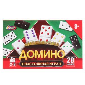 Игра логическая домино в кор.18,5*11,5*2,5см ИГРАЕМ ВМЕСТЕ в кор.80шт