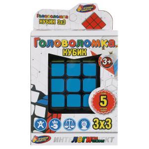 Логическая игра кубик, 3х3 в русс. кор. 6*6*7см Играем вместе в кор.2*60шт