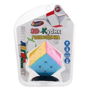 Логическая игра кубик на подставке, 3х3 на блистере (русс. уп.) 21*16*7см Играем вместе в кор.2*72шт