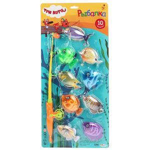 Игра рыбалка, ТРИ КОТА цвет в ассорт. на блистере 53*25,5*3см ИГРАЕМ ВМЕСТЕ в кор.2*36шт
