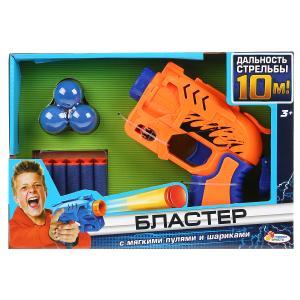 Игрушка бластер с мягкими пулями и шариками, 2 вида, в кор, 26*18*5см ИГРАЕМ ВМЕСТЕ в кор.2*36шт