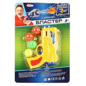Бластер с шариками на блистере 19*4*29см Играем вместе в кор.2*144шт