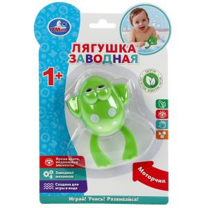 Заводная игрушка лягушка на блистере (русс. уп.) Умка в кор.2*120шт