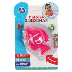 Заводная игрушка рыбка на блистере (русс. уп.) Умка в кор.2*120шт