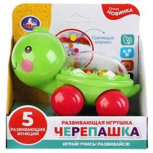 Каталка черепашка с шариками в русс. кор. Умка в кор.2*48шт