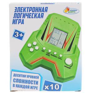 Электронная логическая игра кор.12*9*3см ИГРАЕМ ВМЕСТЕ в кор.2*120шт
