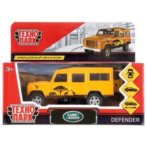 Машина металл LAND ROVER DEFENDER САФАРИ длина 12 см, двери, багаж, кор. Технопарк в кор.2*36шт