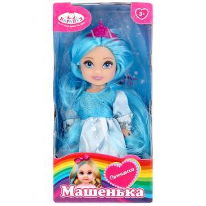 Кукла Машенька 12 см, в нарядном платье в русс. кор. в кор.144шт