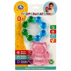Развивающая игрушка прорезыватель на блистере (русс. уп.) Умка в кор.12*12шт