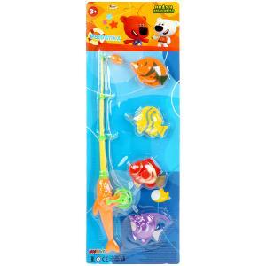 Игра рыбалка МИМИМИШКИ на карт. (русс. уп.) 52*18*4,5см Играем вместе в кор.2*48шт