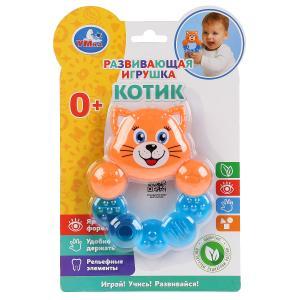 Развивающая игрушка котик на блистере (русс. уп.) Умка в кор.3*24шт