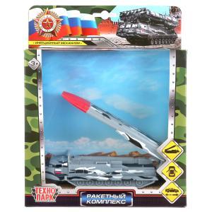 Модель металл ракетный комплекс 15см, откр.двери, инерц, подвиж.элементы в кор Технопарк в кор2*24шт