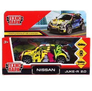 "Машина металл Ниссан ""nissan juke графити"" 12см, инерц, в ассорт. в кор. Технопарк в кор.2*36шт"