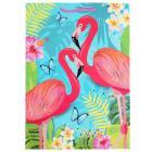 Пакет подарочный глянцевый фламинго, 26*32*14см в пак. Играем вместе уп-12шт в кор.6уп