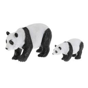 Игрушка пластизоль Животные Мамы и малыши (панда и детеныш) в пак. Играем вместе в кор.4*12шт