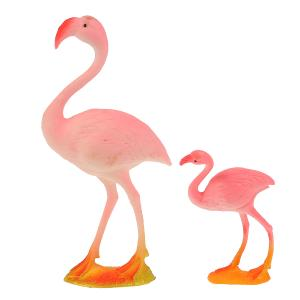 Игрушка пластизоль Играем Вместе Фламинго и цапля, в ассорт. в пак. с хедером в кор.2*36шт