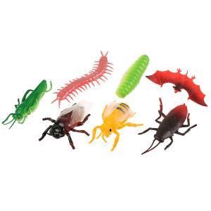 Игрушка пластизоль Играем Вместе насекомые (7шт) 15см, в ассорт. в пак. с хедером в кор.2*48шт