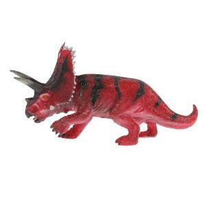 Игрушка пластизоль динозавр бол. трицераптор 26*8.5*13.5см ИГРАЕМ ВМЕСТЕ в кор.2*36шт
