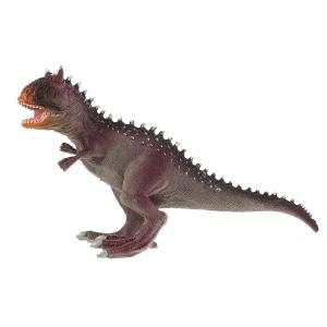 Игрушка пластизоль динозавр карнозавр 25*9*15,5 см ИГРАЕМ ВМЕСТЕ в кор.2*36шт