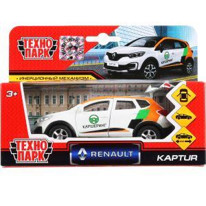 """Машина металл """"RENAULT"""" kaptur каршеринг 12см, откр двери, инерц. в кор. ТМ """"Технопарк"""" в кор.2*24шт"""