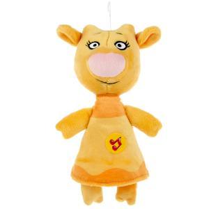 """Игрушка мягкая """"Оранжевая корова"""" зо, 21 см, муз. чип, в пак. ТМ """"МУЛЬТИ-ПУЛЬТИ"""" в кор.24шт"""