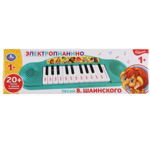 Электропианино песни В.Шаинского, на бат. 12 песен, 2 режима работы в кор. Умка в кор.2*60шт
