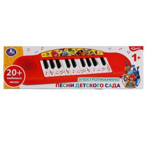 Электропианино песни детского сада, на бат. 12 песен, 2 режима работы в кор. Умка в кор.2*60шт