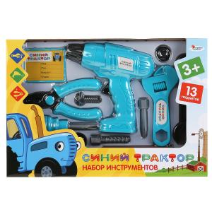 Набор строит. инструментов Синий Трактор в кор. Играем вместе в кор.2*36шт