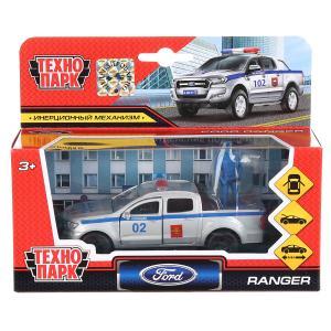 Машина металл FORD ranger, 12 см, дв., баг., инер.+фигур. 4,5см, в ассор. Технопарк в кор.2*24шт