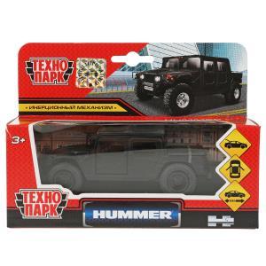 Машина металл HUMMER h1 ПИКАП матовый 12 см, откр.дв., багаж., инерц. Технопарк в кор.2*24шт