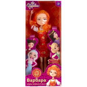 Кукла Царевны Варвара 29 см руки и ноги сгибаются, в кор КАРАПУЗ в кор.36шт