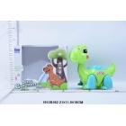 Игрушка динозавр на бат. свет+звук, цвет в ассорт. в кор. в кор.2*24шт