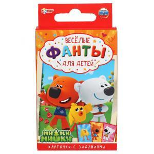 Игровые карточки детские фанты Ми-ми-мишки. 32 карточки 57Х88мм кор.59х88х12мм Умные игры в кор150шт