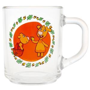 Оранжевая корова. Кружка 250мл. стекло Умка в кор.20шт