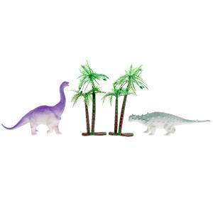 Игрушка пластизоль набор динозавров. меняют цвет в воде. пак. с хэдером. ИГРАЕМ ВМЕСТЕ в кор.2*160шт