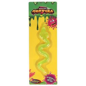 Игрушка лизун-липучка змея, цвет в ассорт. на блистере ИГРАЕМ ВМЕСТЕ в кор.4*72шт