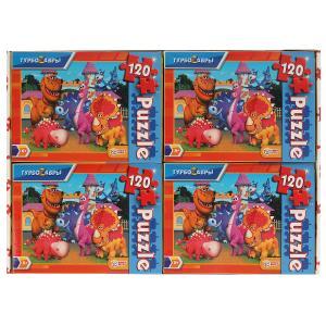Турбозавры. Пазлы классические в коробке. Пазл 120 деталей. Умные игры в уп.8шт в кор.8уп
