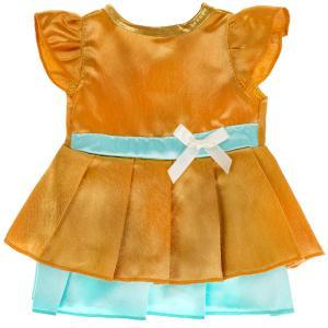 Одежда для кукол 40-42см атласное платье КАРАПУЗ в кор.100шт