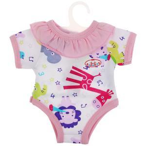 Одежда для кукол 40-42см боди жирафики КАРАПУЗ в шт.100шт
