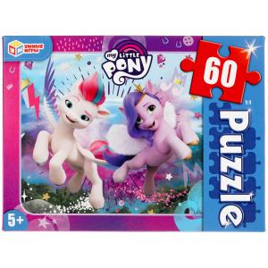 Мой маленький пони. Пазлы классические в коробке. Пазл 60 деталей. Умные игры в кор.24шт