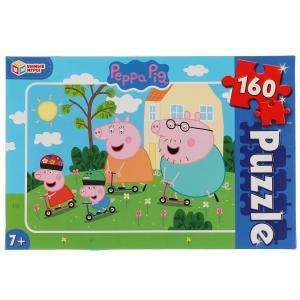 Свинка Пеппа. Пазлы классические в коробке. Пазл 160 деталей. Умные игры в кор.12шт