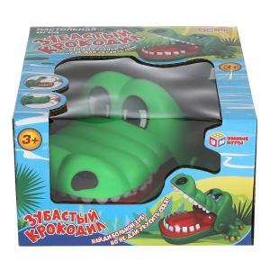 """Игра настольная """"зубастый крокодил"""", в кор., 16*9*15см Умные игры в кор.120шт"""