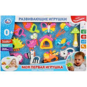 """Набор развивающих игрушек """"моя первая игрушка"""" в кор. Умка в кор.2*18шт"""