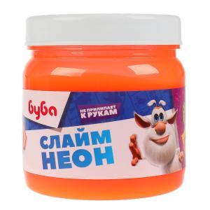 Слайм БУБА слайм неон 400гр ИГРАЕМ ВМЕСТЕ в кор.18шт