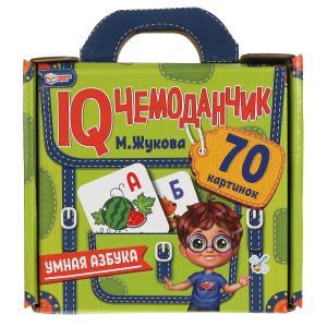 Умная азбука. IQ чемоданчик. 35 карточек в чемоданчике. Умные игры в кор.12шт