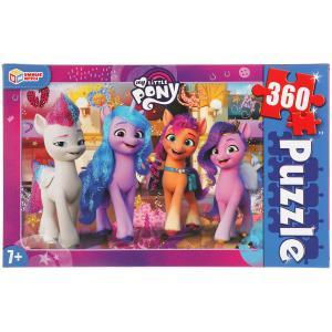 Мой маленький пони.  Пазлы классические в коробке. Пазл 360 деталей. Умные игры в кор.24шт