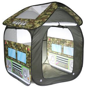 Палатка детская игровая ВОЕННАЯ 83х80х105см, в сумке Играем вместе в кор.24шт